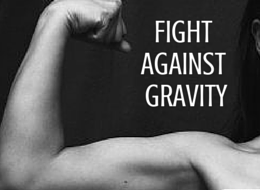 A flexed arm muscle