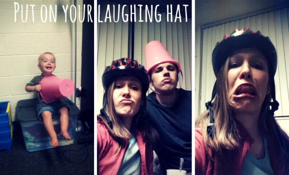 Put on your laughing hat