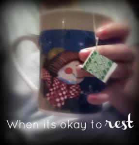 okay to rest