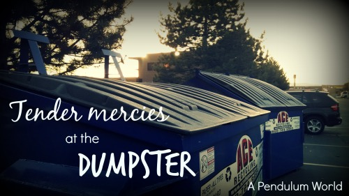 tender mercies dumpster